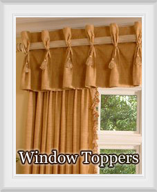 Window Curtain Toppers
