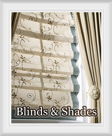 Custom Blinds and Roman Shades