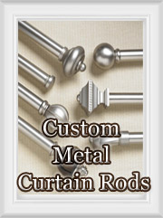 Custom Curtain Rods: Metal Rod Sets