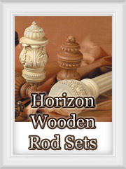 Horizons Wood Curtain Rods