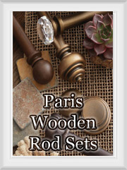 Paris of Texas Wood Rod Sets
