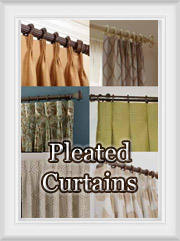 Custom Pleated Curtains & Draperies