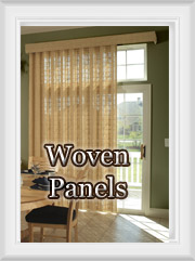 Natural Woven Wood Curtain Panels