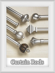 Drapery Curtain Rods