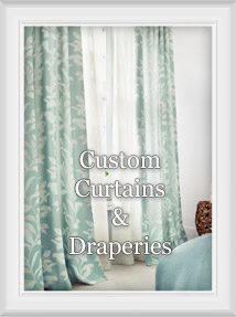 Custom Curtain/Drapery Panels : Choose Your Header Style And Size