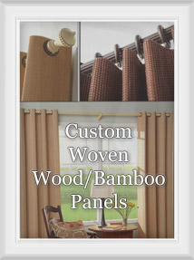 Custom Woven Wood Panels : Grommets