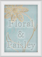 Shop by Pattern Floral, embroidered, scroll, Paisley, Curtains with Flowers Design