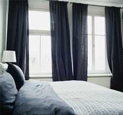 Bedroom Window Treatment