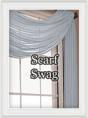 Scarf Swag Curtains