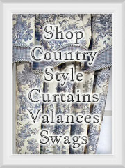 Shop Country Curtains: Drapes, Tiers, Valances & Swags