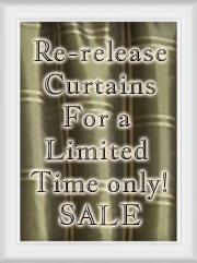 Limited Re-Release Curtains on Sale
