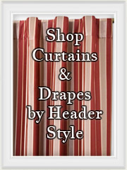 Shop Curtain & Drapery Panels by Header style