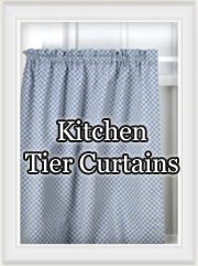 Kitchen Tier and Cafe Curtains