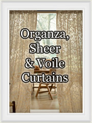 Sheer, Voile and Organza Curtains