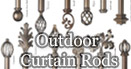 Outdoor Curtain Rod
