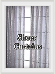 Voile, organza Sheer Curtains