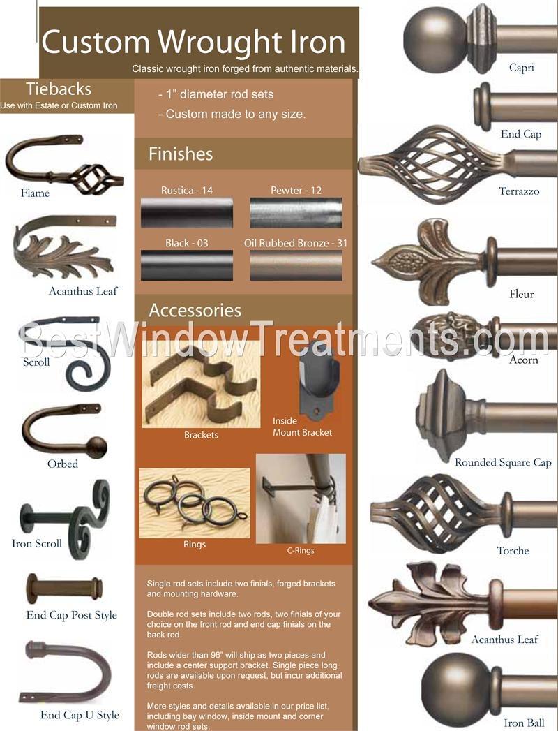 custom metal rod sets