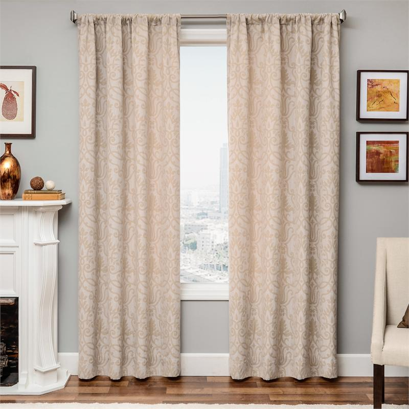 Azure Royal Curtain Panel Available In 6 Color Choices
