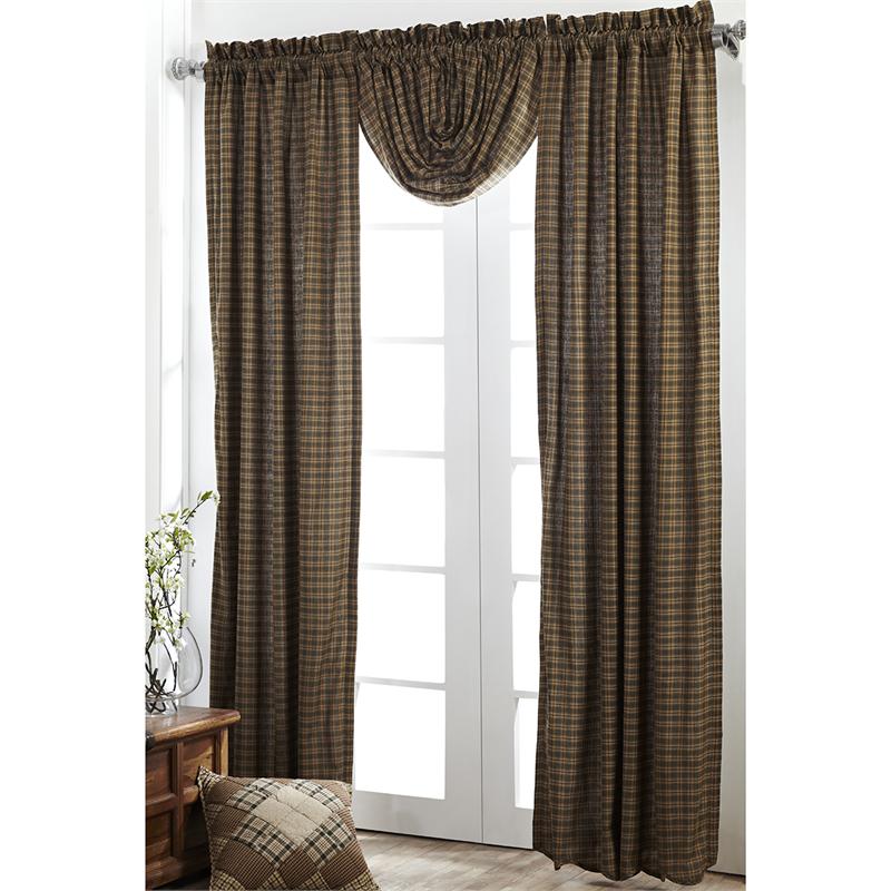 Barrington Plaid Curtains Pair Www
