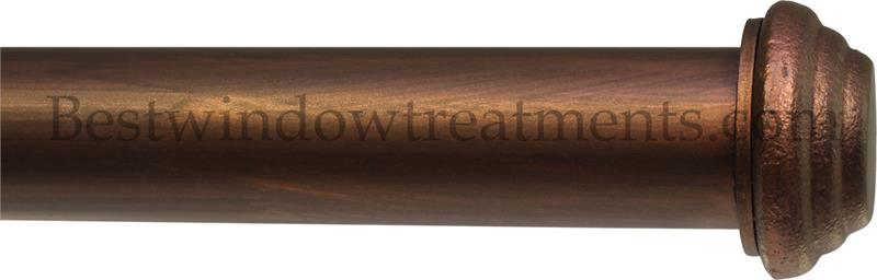 Beaumont 1 Quot Iron Curtain Rod Extra Long Available