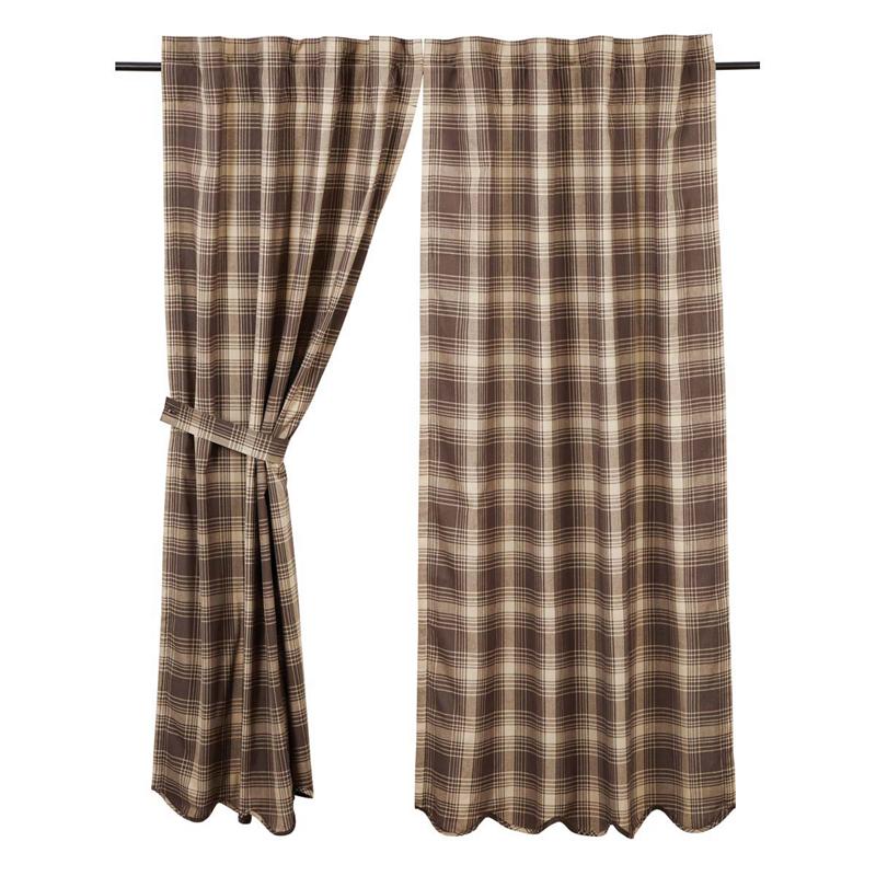 Dawson Plaid Curtains Pair