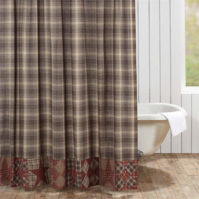 Dawson Plaid Shower Curtain Www Bestwindowtreatments Com