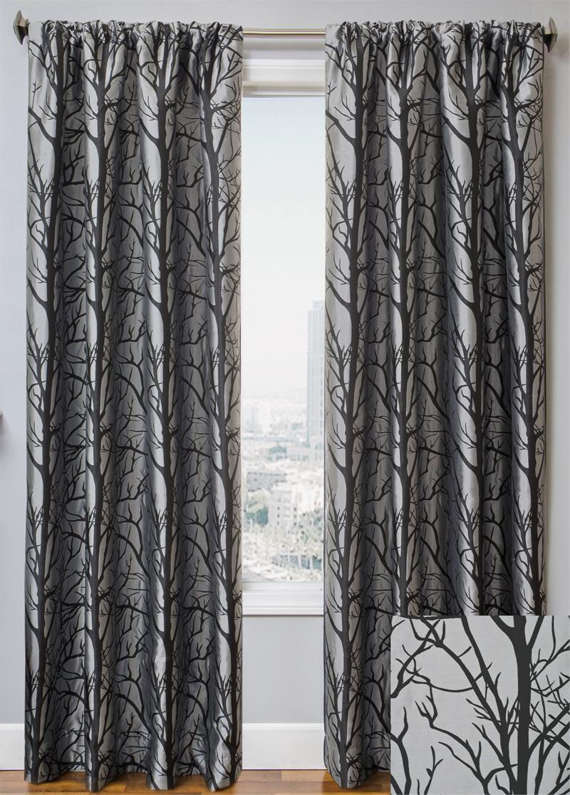 Element Tree Curtain Drapery Panels