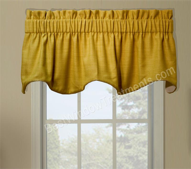 Hampton Duchess Filler Valance Window Treatments