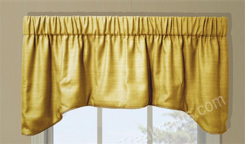 Hampton Arch Valance Window Treatments