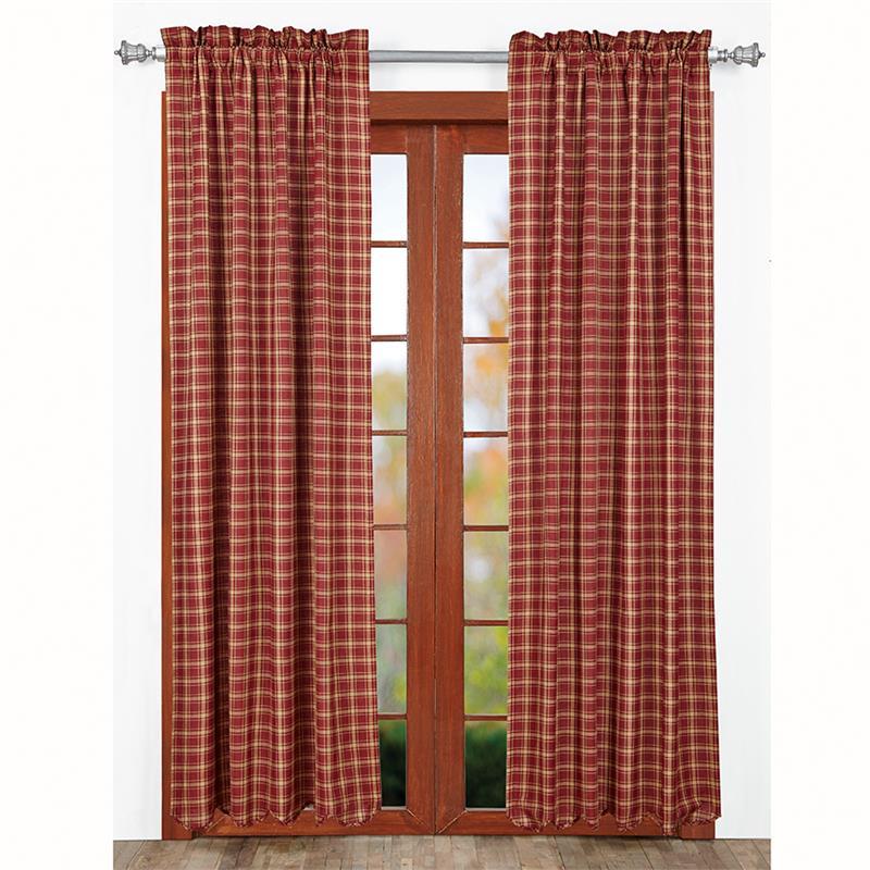 Kendrick Plaid Curtains