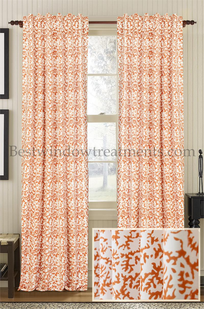 Agate Cotton Amp Linen Curtain Panel Best Window Treatments