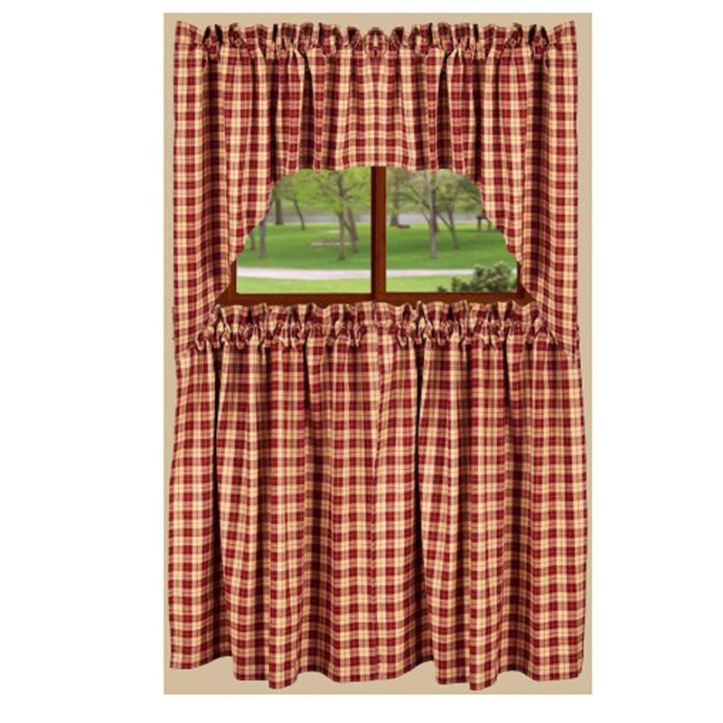 Parkersburg Plaid Barn Red Tier
