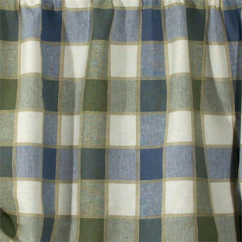 Plymouth Plaid Curtain Panel