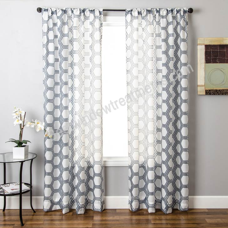 renegade burnout sheer curtain drapery panel