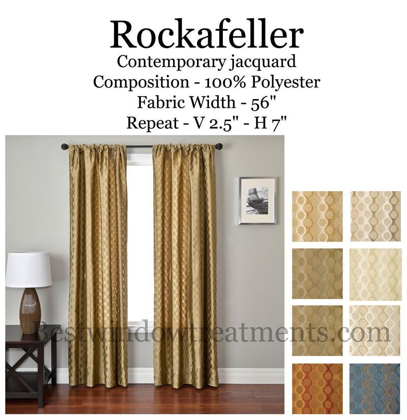 Rockafeller Curtain Drapery Panels Bestwindowtreatments Com