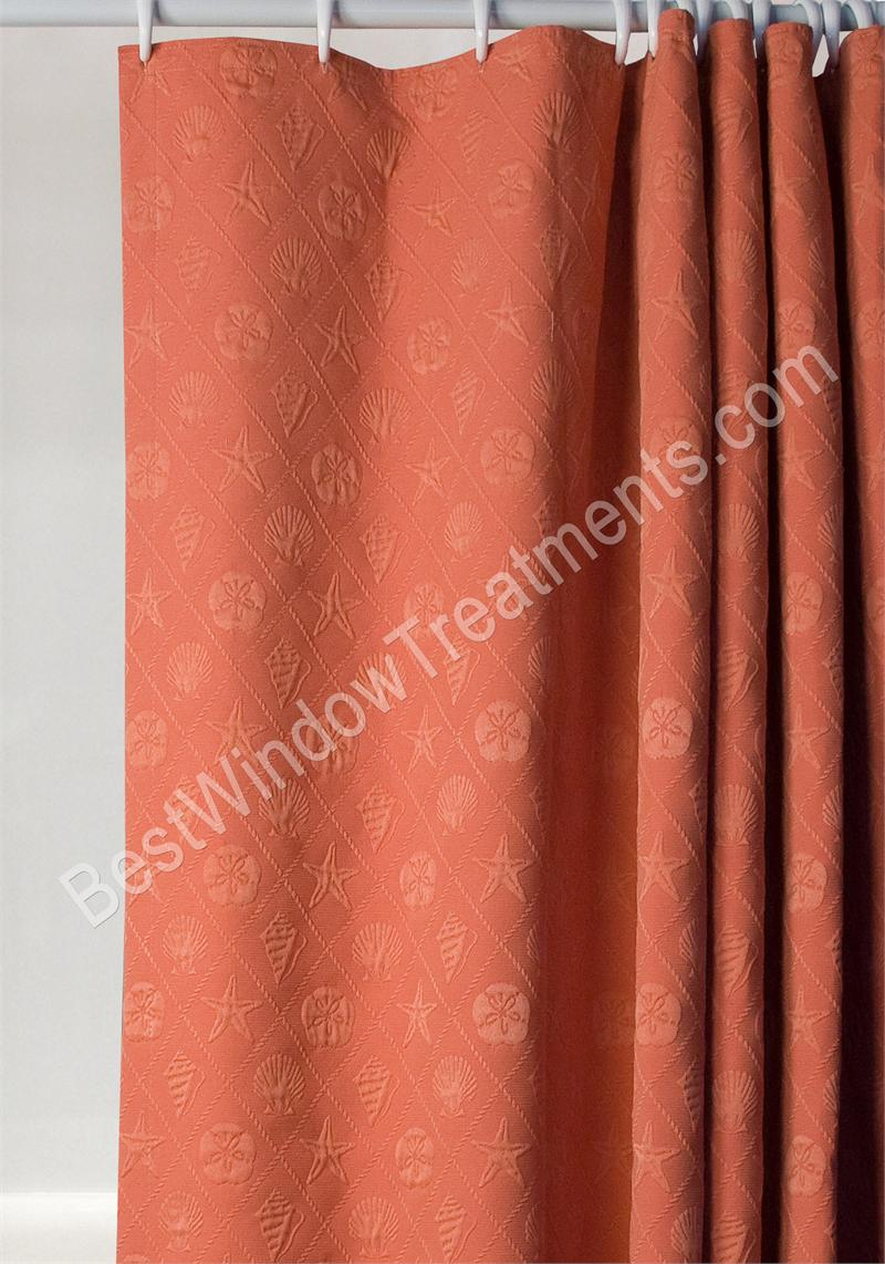 Shell Matalaisse Shower Curtain