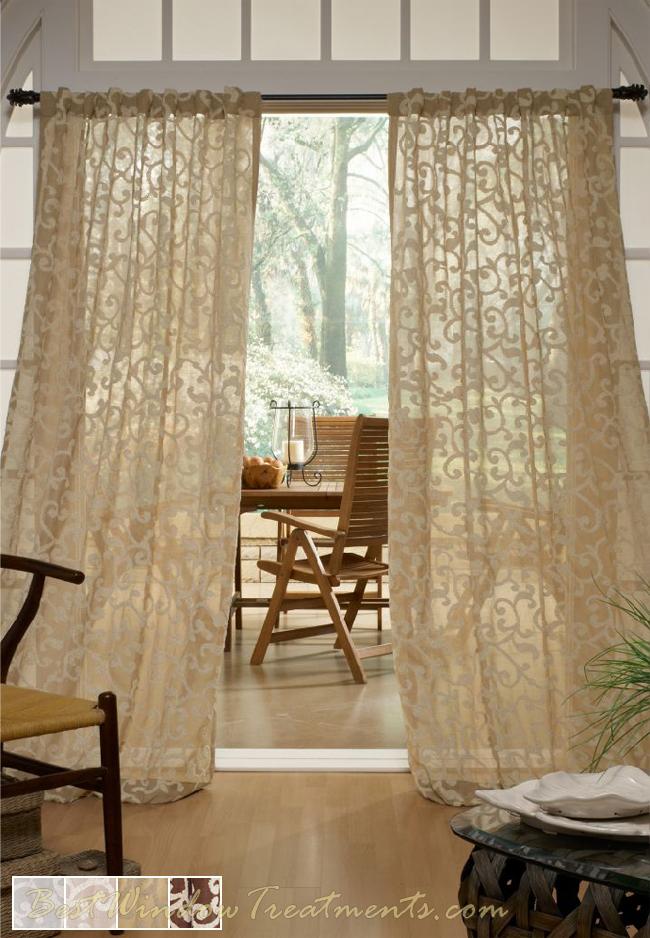 Strathcona Semisheer Curtain Drapery Panels