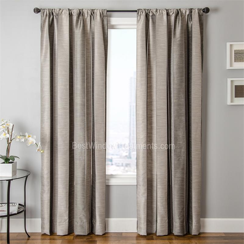 Tandora Stripe Curtain Panel in 7 Colors