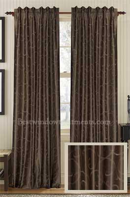 Diesel Faux Silk Curtain Panel Best Window Treatments