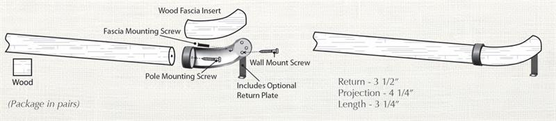 Custom Select French Rod Set 1-3/8