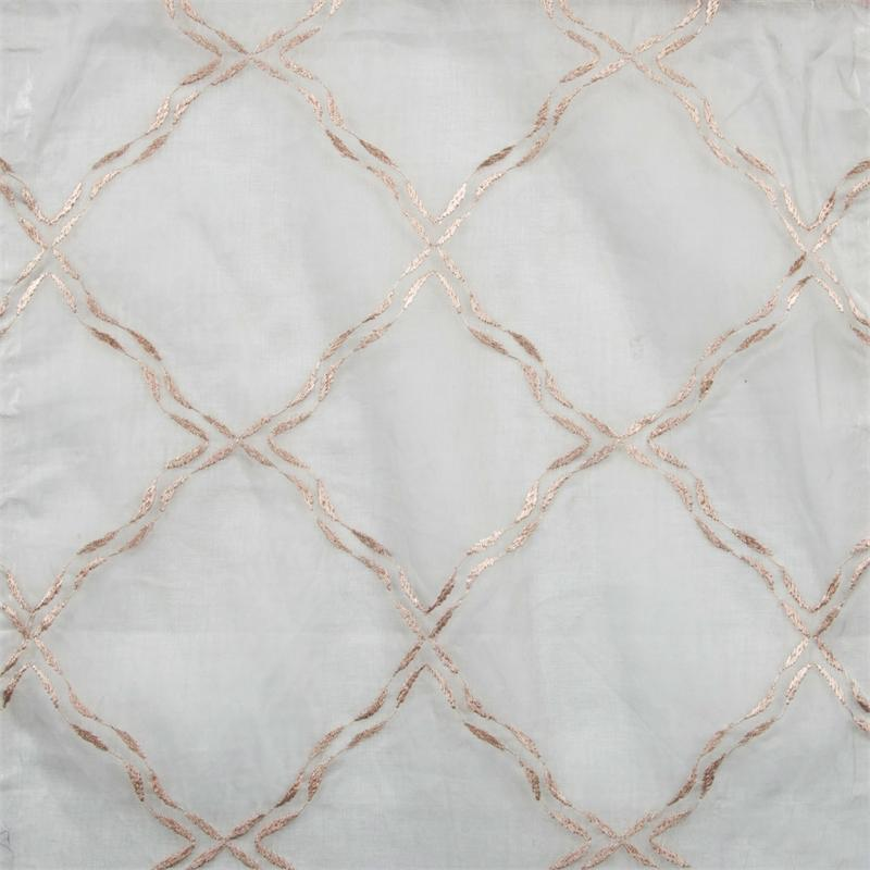 Glorious Embroidered Cotton Sheer Fabric By The Yard Best Window Treatments