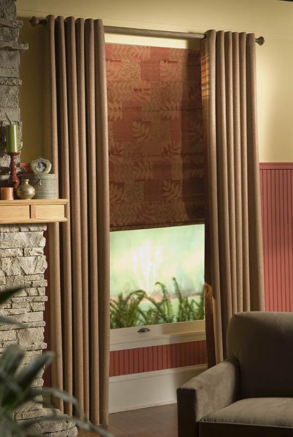 Custom Length Grommet Style Curtains Single Width