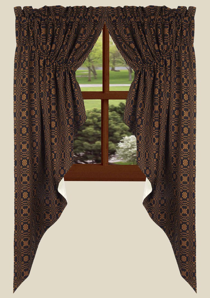 Lover S Knot Gathered Swag Curtains
