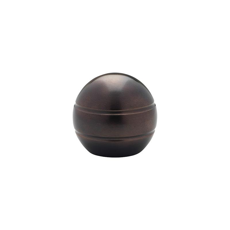 Select Modern Ball 1 3 16 Quot Metal Curtain Rod Set
