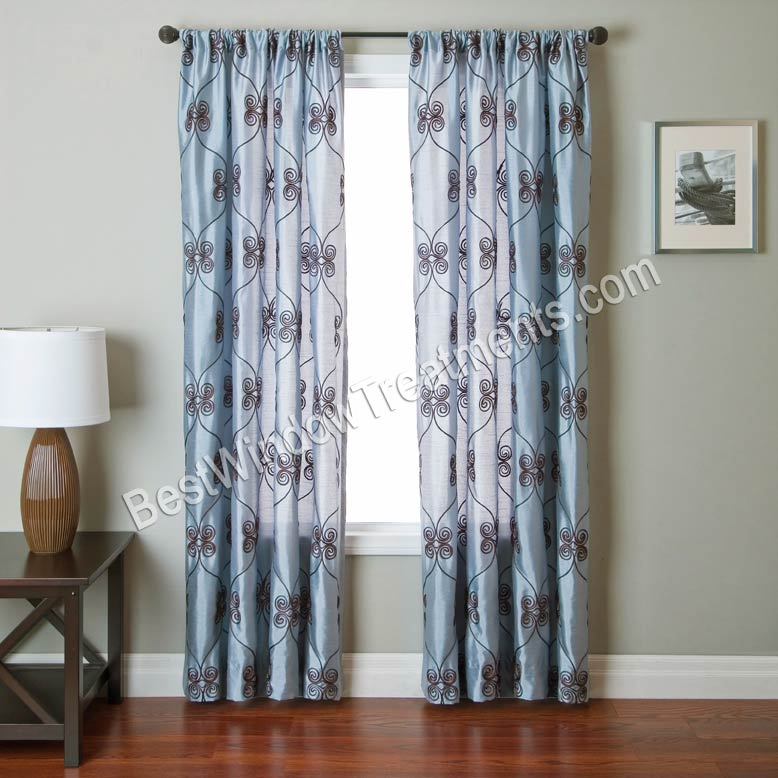 Pyn scroll scarf swag window topper for Window scroll