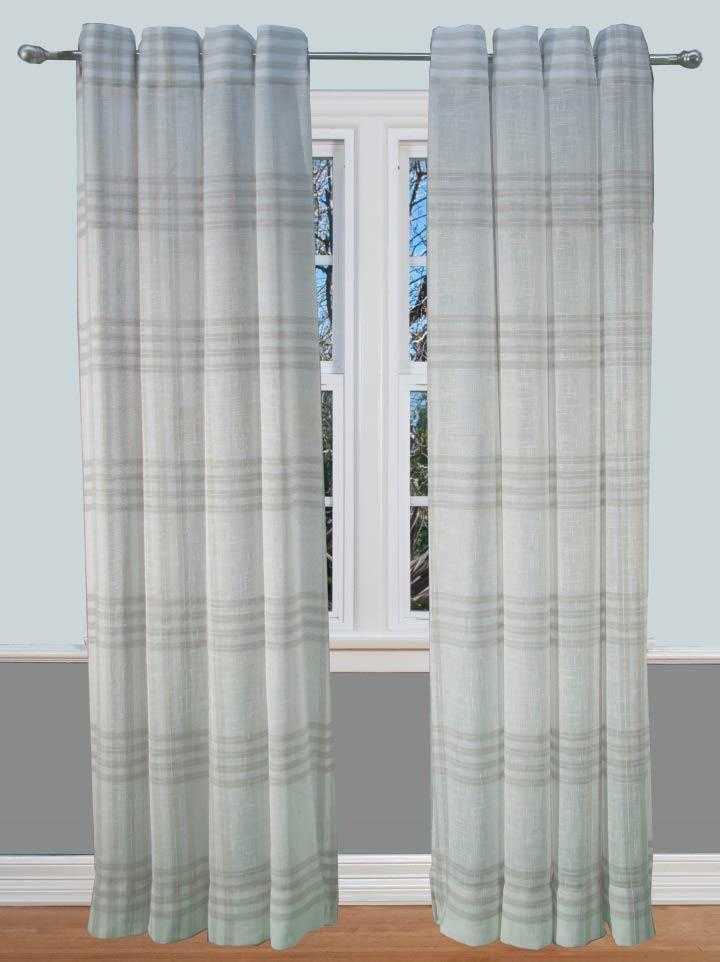 Soho Plaid Curtain Panel Bestwindowtreatments Com