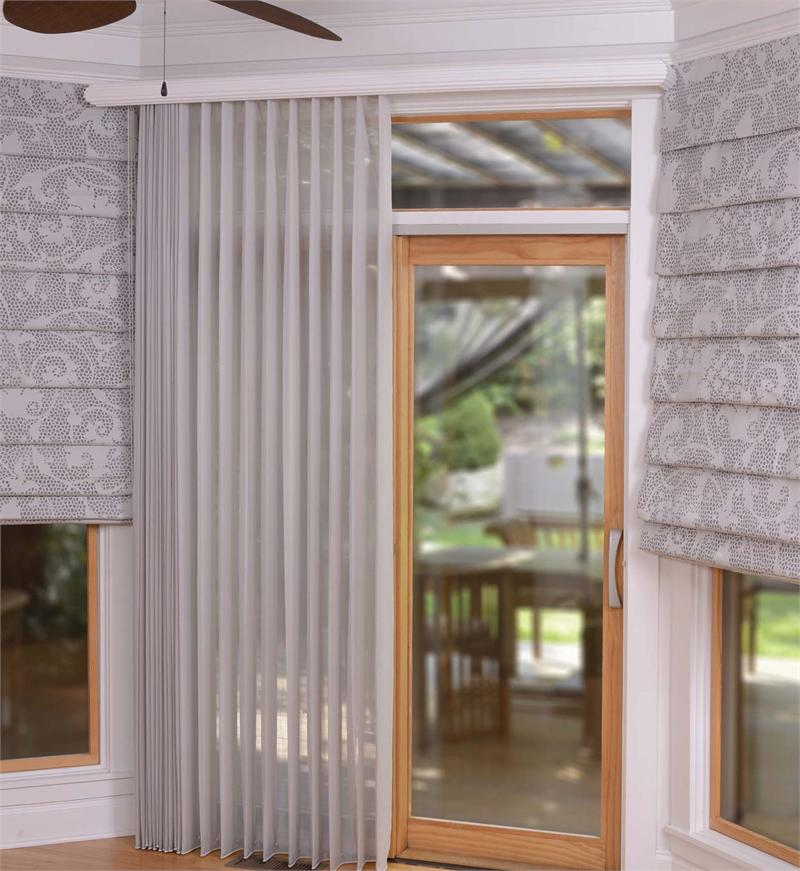 Fabric Wrapped Vertical Blinds Sold Nationwide At