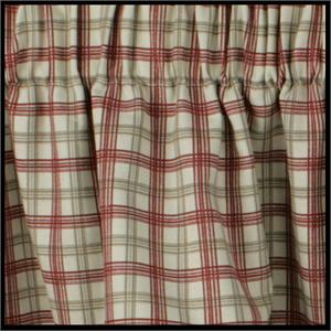 Bristol Plaid Shower Curtain
