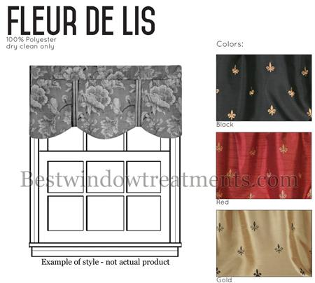 Custom Fleur De Lis Royal Valance Www