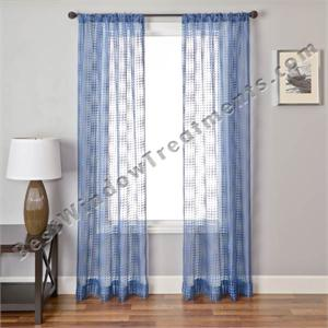 hurley sheer curtain panel in 10 colors - Sheer Curtain Panels
